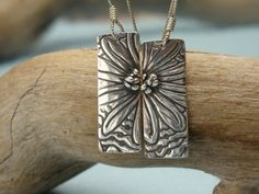 You Are My Sunshine  Fine Silver Earrings  PMC  by Silvermaven, $34.00