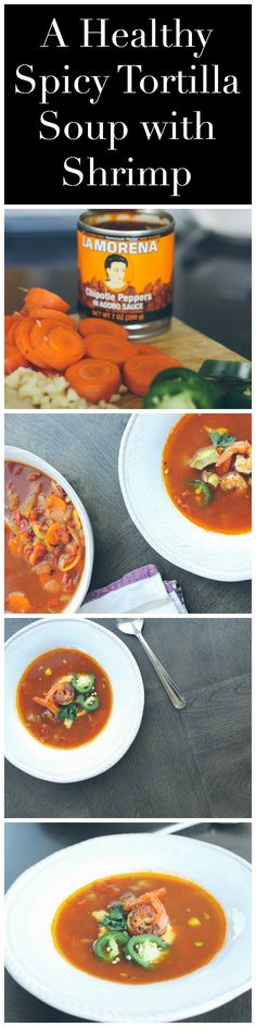 A healthy twist on traditional tortilla soup, healthy soup recipe