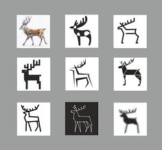 DEER stylization on Behance