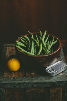 love this picture! recipe for Bean Salad with Lemon-Anchovy Dressing too via @Brian - A Thought For Food