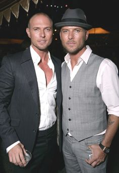 Luke & Matt Goss. I love Luke but damn. You can't say no to TWO of them *grin*