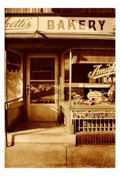 Italian Bakery Vintage Film Photography Kitchen