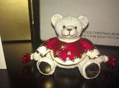 ESTEE LAUDER HARROD'S CHRISTMAS BEAR PERFUME COMPACT!! (06/06/2011)