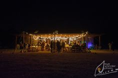 Rustic Barn Wedding*Angela Marie Events*Baton Rouge, LA #barnwedding #stringsoflights