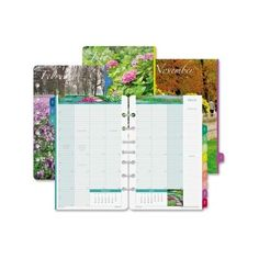 Day-Timer Garden Path Monthly Planner Refills | OfficeSupply.com