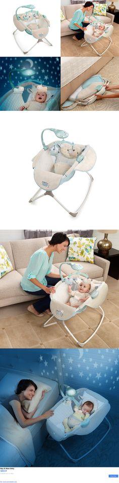 Baby Nursery: Newborn Rocking Sleeper Bassinet Baby Furniture Nursery Crib Portable Cradle Bed BUY IT NOW ONLY: $64.9 #priceabateBabyNursery OR #priceabate