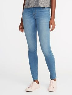 e7d374ab4a7a6 Mid-Rise Built-In Warm Rockstar Jeggings for Women Shop Old Navy, Material