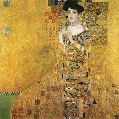 Gustav Klimt, Ritratto di Adele Bloch-Bauer I, 1907, Vienna, Österreichische Galerie Belvedere, Schloss Belvedere