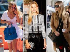 The Many Bags of Gigi Hadid