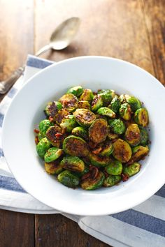Caramelized Brussels Sprouts with Maple Orange Glaze