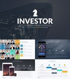 startup pitch deck - powerpoint toolkit | data visualization, Presentation templates