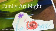 Family Art Night -