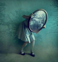 les miroirs / mirrors II by ~victoriaaudouard on deviantART