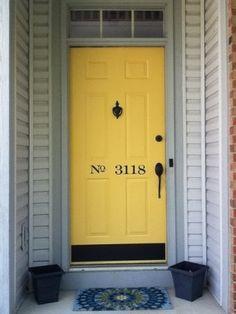 front door numbering - Google Search