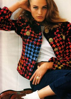 Vogue Girl's Content - Page 151 4th November, 90s Models, Prep Style, Free Pictures, View Image, Supermodels, Stylists, Father, Plaid
