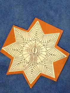 Weihnachtssterne Christmas Star, Xmas, Doily Art, Bobbin Lace Patterns, Lacemaking, Needle Lace, Doilies, Fiber Art, Tatting