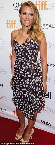 Scarlette in Vivienne Westwood   TIFF 2013