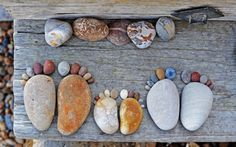 Stone Footprints: The Art Of Making Footprints From Rocks