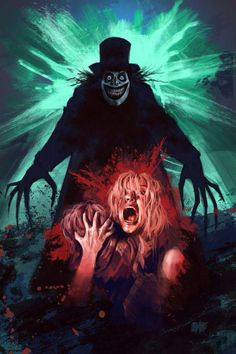 Horror Movie Poster Art : The Babadook 2014 Horror Movie Posters, Horror Movie Characters, Movie Poster Art, Film Posters, Classic Horror Movies, Iconic Movies, The Babadook, Creepy, Horror Artwork