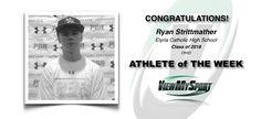 Congratulations to this week's ViewMySport ATHLETE of THE WEEK - RYAN STRITTMATHER - Baseball (Short Stop) - Class of 2018 - Elyria Catholic High School (OH)... GREAT JOB RYAN!  https://www.viewmysport.com/r-476-ryan-strittmather-baseball  ViewMySport.com - Your #1 College Sports Recruiting &  Scholarship Networking Resource!