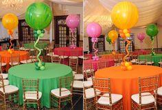 Amazing Balloon Centerpiece Ideas from Balloon Artistry
