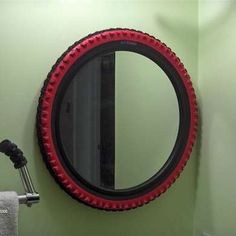 DIY Bike Tire Mirror http://integratire.com/ https://www.facebook.com/integratireandautocentres https://twitter.com/integratire https://www.youtube.com/channel/UCITPbyTpbyNCDeEmFbYFU6Q