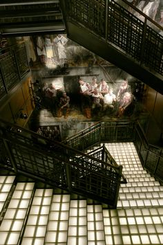 Abercrombie and Fitch Flagship Store. Murals by Mark Beard (aka Bruce Sargeant)