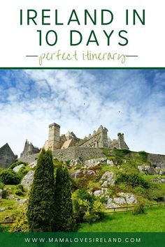 Can you see Ireland in 10 days? See the best of the Emerald isle with this 10 day Ireland itinerary Ireland With Kids, Love Ireland, Famous Landmarks, Famous Places, Ireland Vacation, Ireland Travel, Southern Ireland, Grafton Street, Local Moms