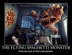 #FlyingSpaghettiMonster #Funny #Atheism