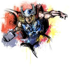 #Thor Print /// by Vincent Vernacatola