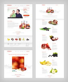 Vita-V Fruit Drink by Higher , via Behance