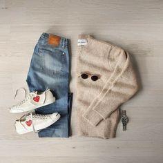 "43 Me gusta, 2 comentarios - Men's Outfit (@menoutfitts) en Instagram: ""#ootd #men #style #fashion #gentlemen #classy #instaglam #instastyle #outfitoftheday #urban #denim…"""