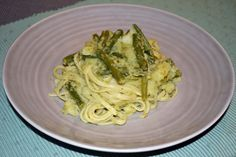 Pesto Potatoes, Green Beans, Spaghetti, Cooking Recipes, Pasta, Ethnic Recipes, Food, Chef Recipes, Essen