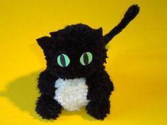 Katze aus Wolle