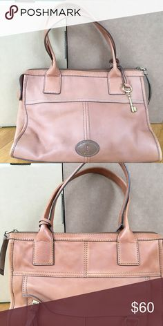 Fossil purse Tan leather fossil purse Fossil Bags Shoulder Bags