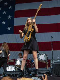 Este Haim on bass guitar!!!!!