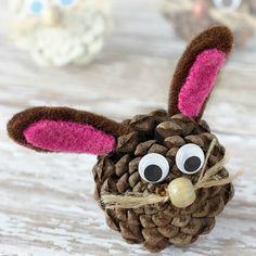 25 Pretty Pinecone Crafts for Preschoolers