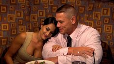 there is a tie for the cutest couple on total divas nikki and john and.........