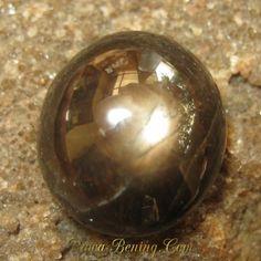 Batu Mulia Oval Cab Black Star Sapphire 11.90 carat