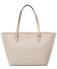KATE SPADE Kate Spade New York Cedar Street Small Harmony Leather Tote'. #katespade #bags #leather #hand bags #linen #tote #lining #