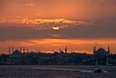 Istanbul - sunset II | by Aziz Ünsal