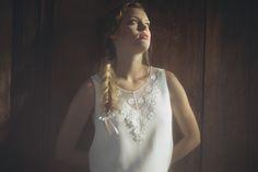 Jupe SOLENEet Top PO╠éL - Organse Paris - Collection 2016 robes de mariée sur-mesure
