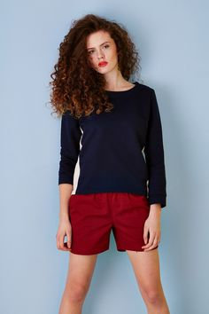 SS2015 sporty look, #polskamoda Sporty Look, Spring Summer 2015, Short Dresses, Hair Makeup, How To Make, Collection, Design, Fashion, Short Gowns