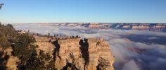 Inversion phenomenon at Grand Canyon – Arizona, USA