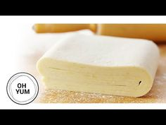 Puff Pastry Recipe from Anna Olson French Puff Pastry, Puff Pastry Dough, Puff Pastry Sheets, Choux Pastry, Filo Pastry, Anna Olson, Puff Pastry Ingredients, Puff Pastry Recipes, Cooking Yellow Squash