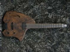 Walnut Electric Guitar