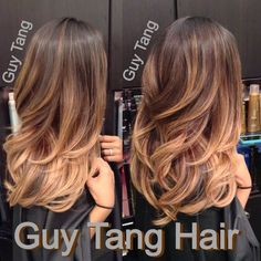 Ombré on Asian hair by Guy Tang
