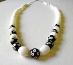 1800s Trade Bead Necklace // Venetian Glass Beads // by JackpotJen
