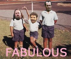 The Baratheon Brothers: Game of Thrones. This makes me laugh was more than it should. Oh Renly:)