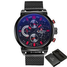 0add52d7b Men's Watch Stainless Steel Analog Quartz 24 Hours Date Casual Sport Men's  Watch Stainless Steel Analog Quartz 24 Hours Date Casual Sport